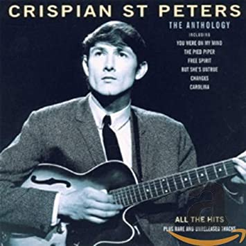 Image of Crispian St Peters The Anthology album cover