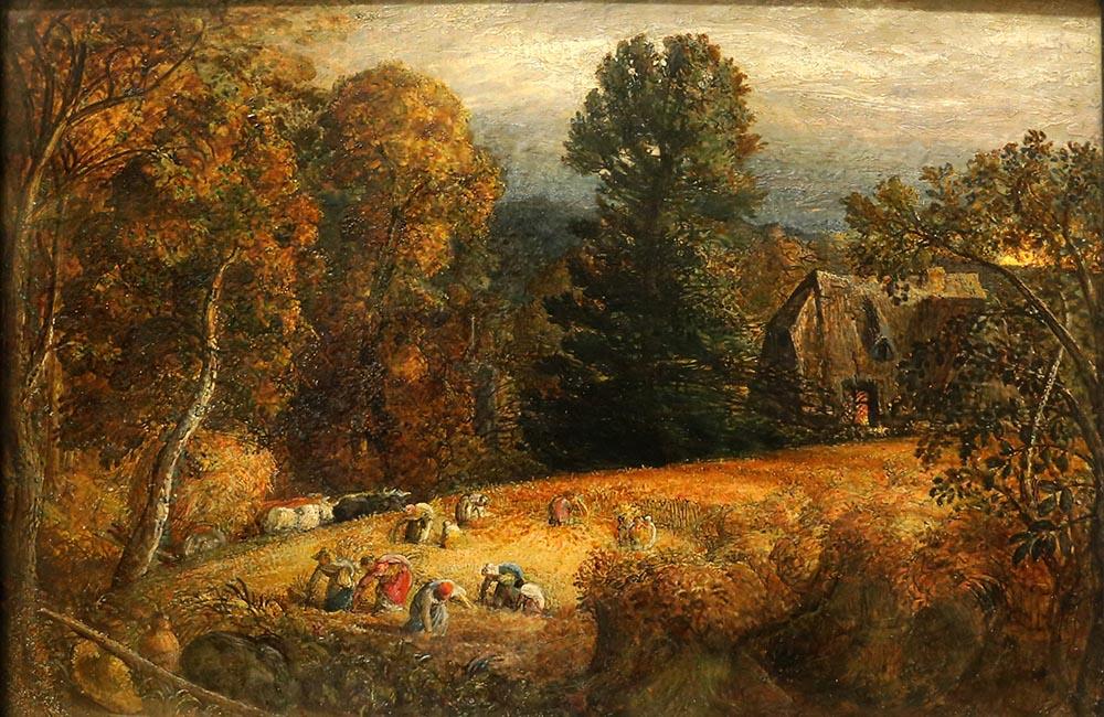 Landscape painting by Samuel Palmer