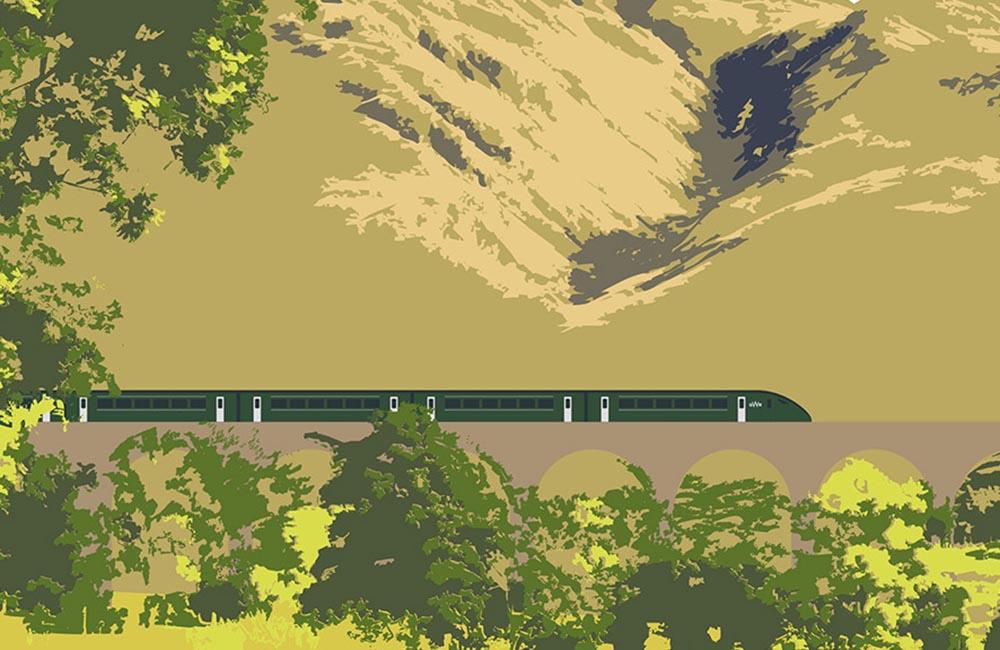 Great Western Railway Illustration