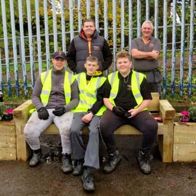 Picture of Kent CRP Sheppey College volunteers