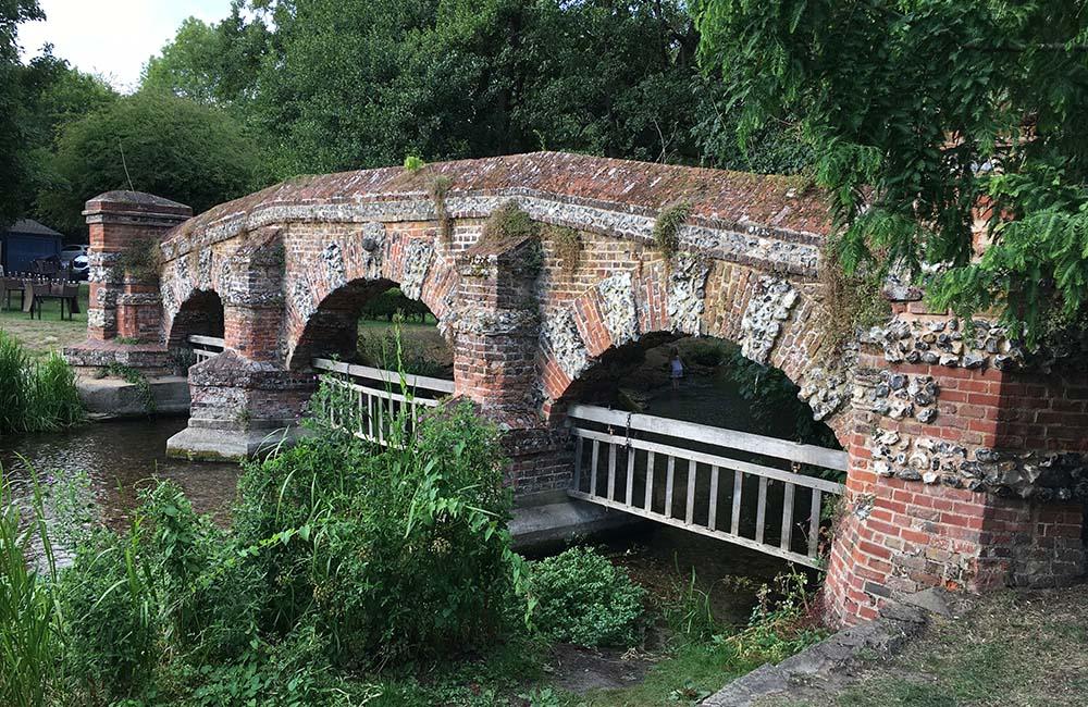 View of Farningham Bridge